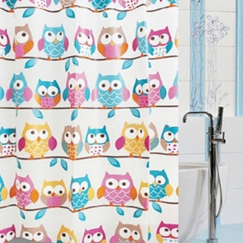 Online Get Cheap Owl Shower Curtain Aliexpress