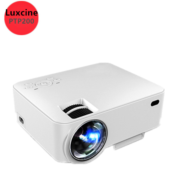Original Luxcine PTP200 PROJECTOR 2016 NEWEST MINI LED Portable For Video Games TV Movie HDMI/USB/SD/VGA/AV ,Support Korean(China (Mainland))