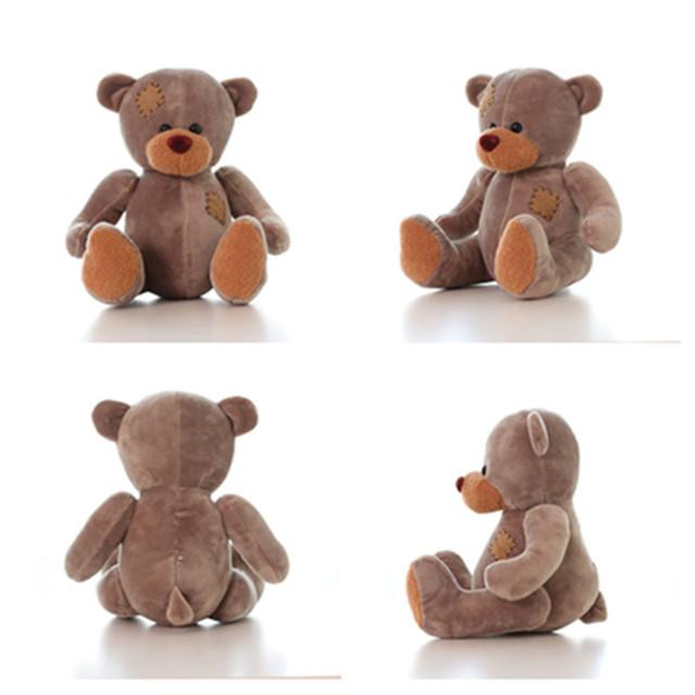 1 Шт. Плюшевого Мишки Плюшевые Игрушки Коричневый Серый Боди Плюшевый Медведь куклы Милые Мини PlushTeddy Медведь Горячие Продажи Дети Чучела Животных Игрушки