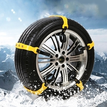 10pcs/Set Big Car Snow Tire Anti-skid Chains Universal SUV Vehicles Wheel Antiskid Chain Auto Snowblower TPU snow chains For Ice(China (Mainland))
