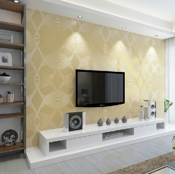 Modern wallpaper woonkamer inspiratie het beste interieur - Moderne woonkamer behang ...