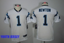 100% Stitiched,Carolina Panthers,Cam Newton for mens women youth kids(China (Mainland))