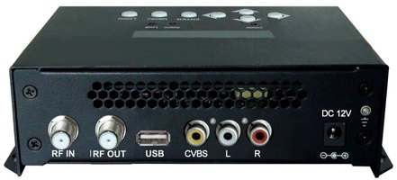 REM7531M H.264 CVBS to DVB-T MPEG-4 AVC HD Encoder Modulator smart wall-mounted item(China (Mainland))