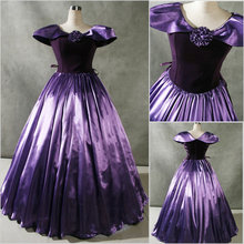 Freeship!Customer-made Vintage Costumes Victorian dress Renaissance Dress Steampunk dress Gothic Cosplay Halloween Dresses V-69
