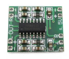 10PCS Digital DC 5V Amplifier Board Class D 2*3W USB Power Mini PAM8403 Audio Module SG239-SZ(China (Mainland))