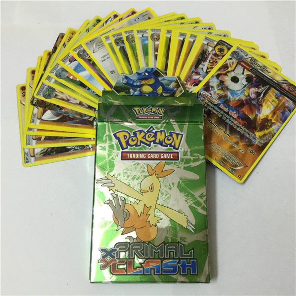 25PCS/lot 2015 new Pokemon Action Toys Figures game card for kids cheap Classic Toy playing Games children Collection Cards(China (Mainland))