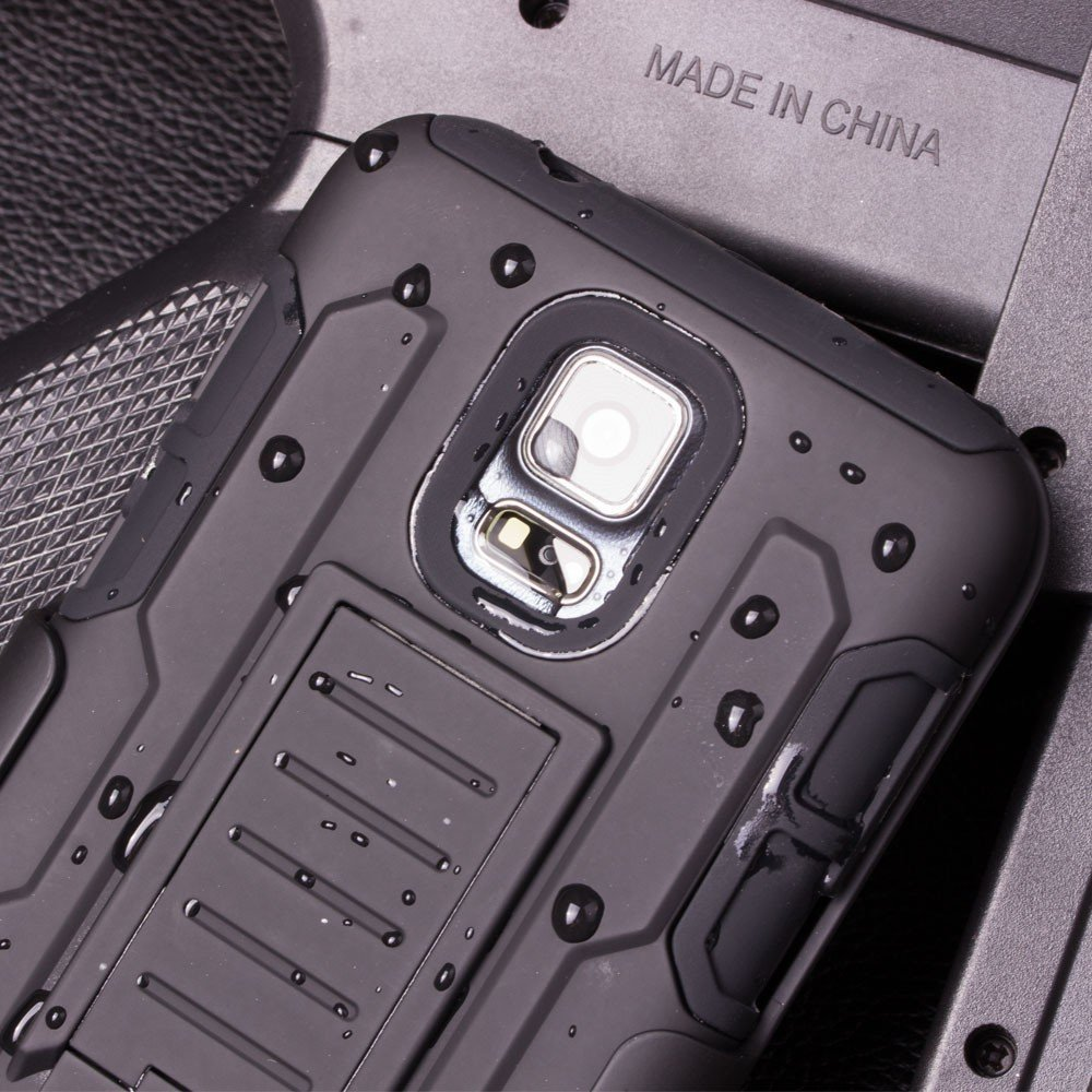 Здесь можно купить  500pcs Future Armor Impact Defender Holster Belt Clip Hybrid Kickstand Case For Samsung Galaxy S5 Active G870 Cover Shockproof 500pcs Future Armor Impact Defender Holster Belt Clip Hybrid Kickstand Case For Samsung Galaxy S5 Active G870 Cover Shockproof Телефоны и Телекоммуникации