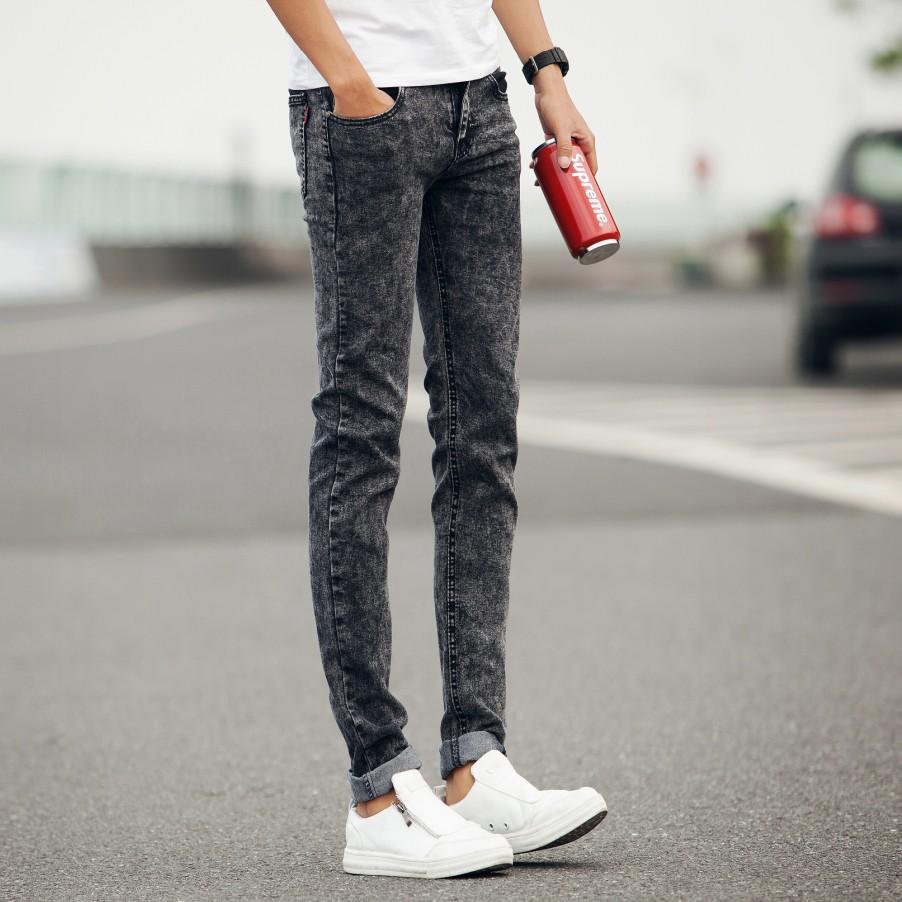 Mens Vintage Skinny Jeans - Jeans Am