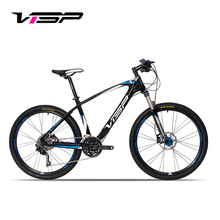 26/27.5 Inches Carbon Fiber Mountain Bike,Top Quality 30 Speed Control System,adopt Oil Suspension Fork, Aluminum Alloy Rim(China (Mainland))