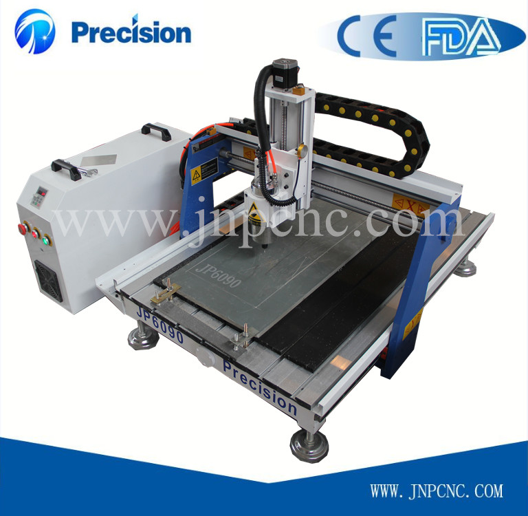 mini cnc glass cutting machine with T-slot table or vacuum table 600*900mm(China (Mainland))