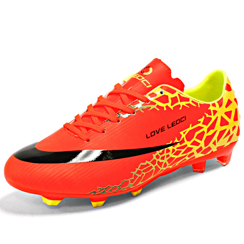 2016 New Boys TF <font><b>Soccer</b></font> Cleats Turf Football Fashion <font><b>Soccer</b></font> <font><b>Shoes</b></font> Hard Court Brand Outdoor Sneakers Trainers Adults Size 33~44