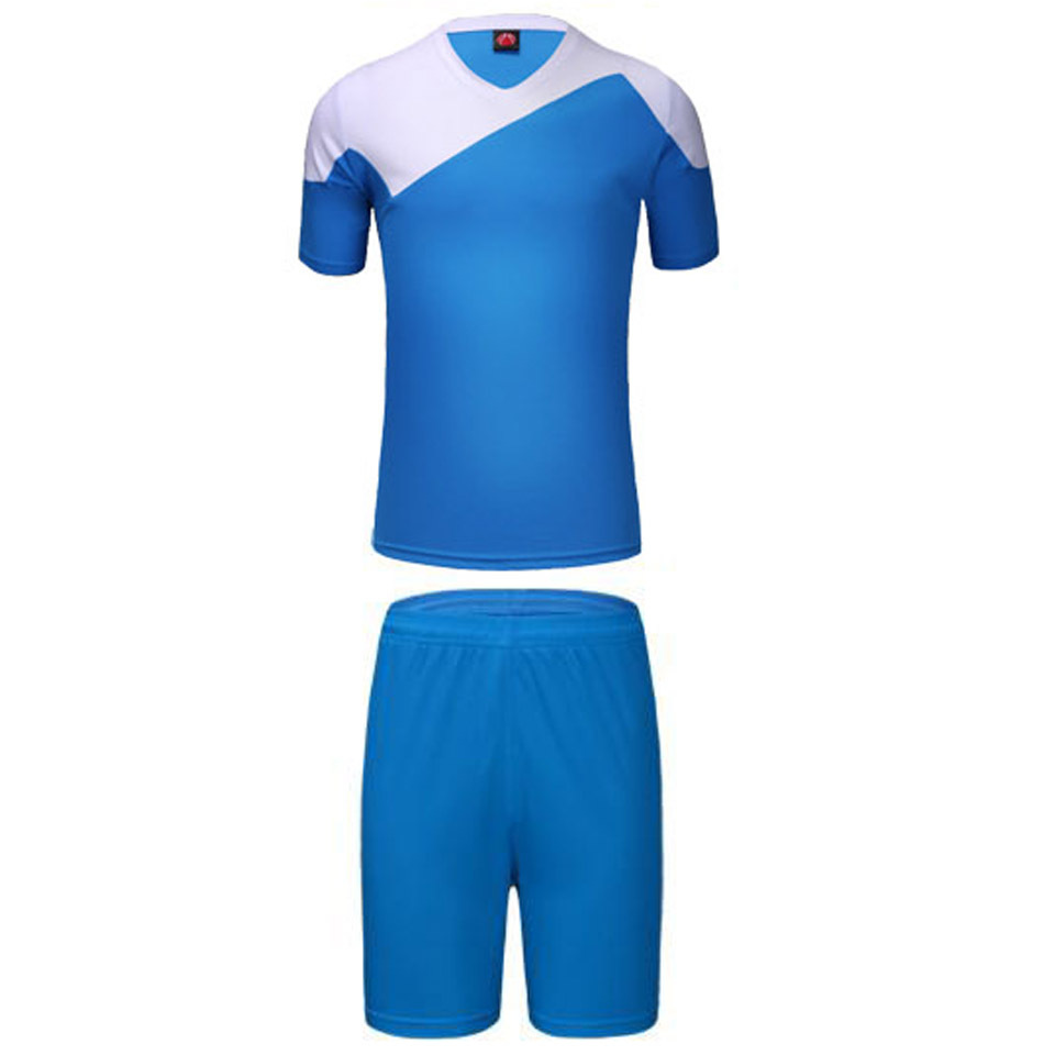 Paintless soccer jerseys replica football kits sets boys mens breathable short-sleeve training suits sports wear L-3XL wholesale(China (Mainland))