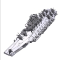 DIY 3D Metal Puzzle Model Toys Liaoning aircraft carrier metal assembly model toys For Children Adult