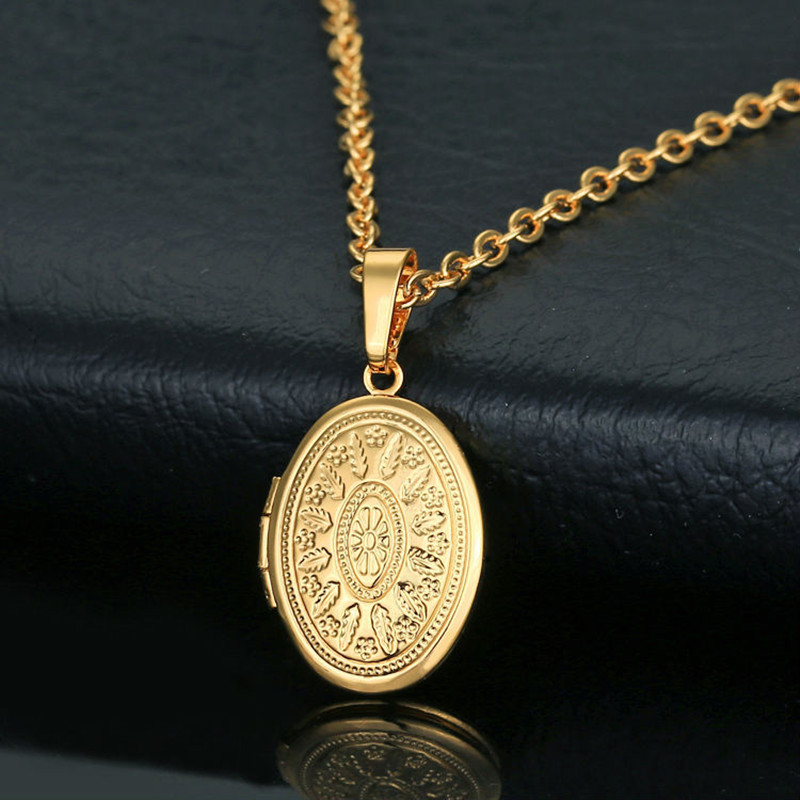 aliexpress buy can open vintage oval locket pendant