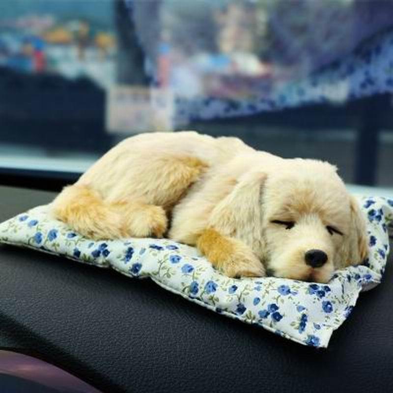 Car Dolls Simulation Dog Model Replica Pet Auto Decoration Inside Car Furnishing Articles Funny Automobile Interior Accessories(China (Mainland))