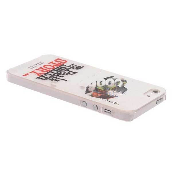 ChinaPrice Retro Car Pattern Leather Hard White Back Cover Case For iPhone 5(China (Mainland))