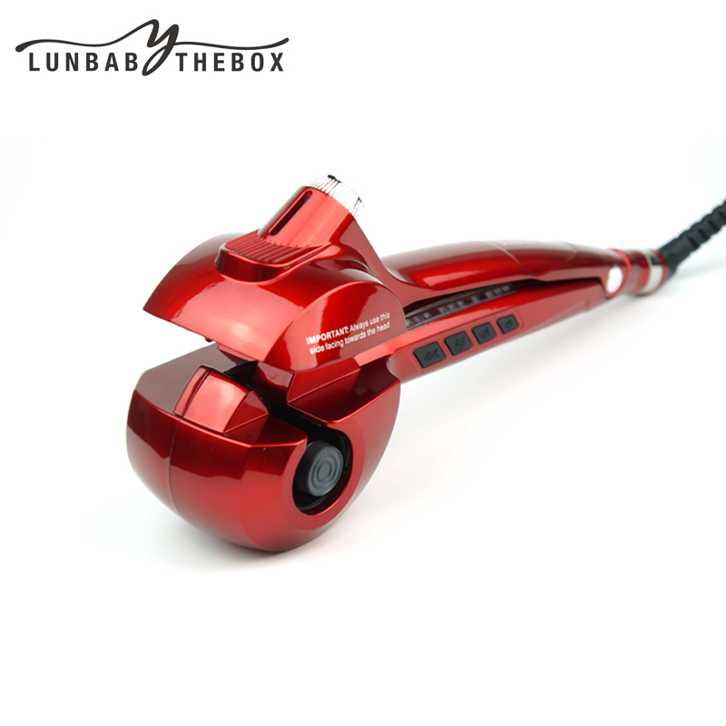 New Pro Automatic Titanium Hair Curler With Steam Spray Hair Care Ceramic Curling Iron Curl Hair Rolloer Style Hair Tools