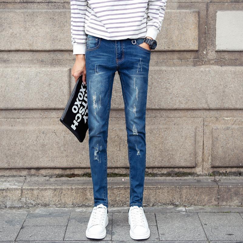 New 2016 Newly Classical Straight Slim Men Jeans,hot Sale Fashion Retail &amp; Wholesale Denim Hot Sale Dark Blue Brand Jeans MenОдежда и ак�е��уары<br><br><br>Aliexpress