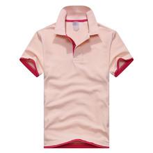 Новый 2016 мужская марка рубашки поло Дези гуаль мужская хлопка с коротким рукавом рубашки поло футболка Свободный доставка М-3XL(China (Mainland))