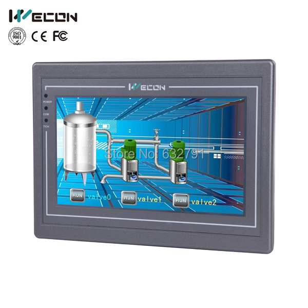 Wecon Levi8708 advanced hmi control wince, linux system support(China (Mainland))