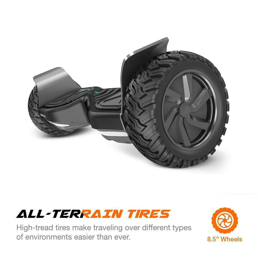 8.5 inch Smart Balance Wheel Scooter Hover Self Balancing Board All-Terrain Alloy Wheel 400W Dual-Motor(China (Mainland))