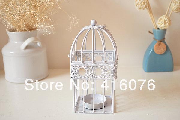Wedding Gift Candle Holders : Candle Holder Birdcage Romantic Feelings Iron Lantern Wedding Gift ...