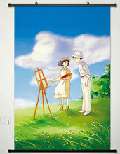 THE WIND RISES Home Decor Japanese Poster Wall Scroll Art Anime 098