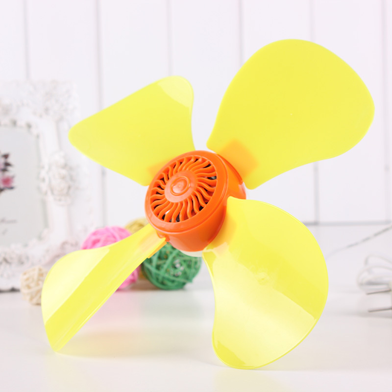 Fashion Mosquito Net The Small Ceiling Fan Mute Sounds Ceiling Fan Dormitory Energy Conservation Ceiling Fan Yellow Small Fan(China (Mainland))