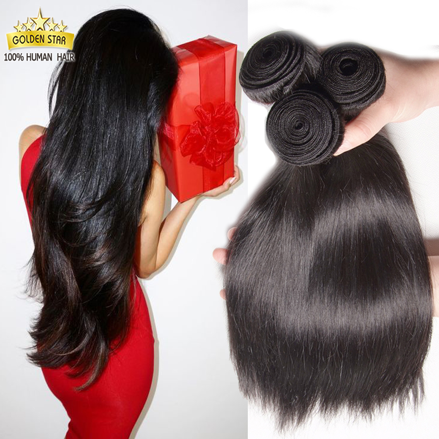7A Virgin Hair Silk Straight Cambodian Virgin Hair Cambodian Human Hair Weave Bundles 4 Bundles Xuchang Hair Wholesale Lots #1b(China (Mainland))