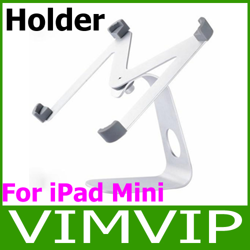 Free Shipping!M shape aluminum 360 Degree Rotatable holder stand for ipad mini