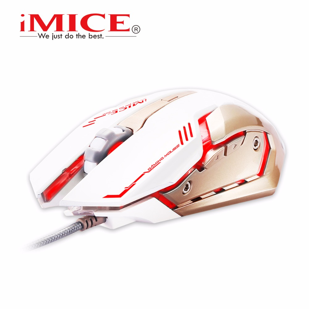 V8 Macro 4000DPI PC Computer Mouse Led Optical 6D USB Wired Game Gaming Mouse Gamer For Laptop(China (Mainland))