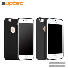 Soft Silicone TPU Cover Case for iPhone SE 6S Plus 6 Plus 6S 6 5S 5 Phone Accessories Slim Ultra Compact Shell with Logo Hole