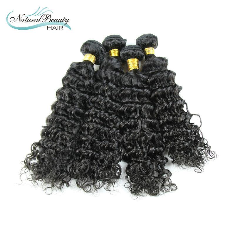 Peruvian Deep Wave Hair Extensions 100% Human Virgin Curly Hair Weave 4Pcs/lot Peruvian Virgin Hair Deep Wave<br><br>Aliexpress