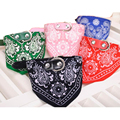 Dog Necklace For Pet Adjustable Breakaway All Seasons Pet Dog Collar Puppy Neck Scarf Bandana Neckerchief