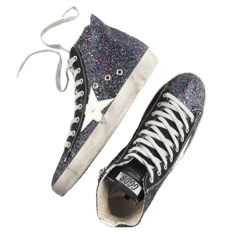 Golden Goose 2015 increased within the new stealth qiu dong casual shoes comfortable leisure GGDB South Korea<br><br>Aliexpress