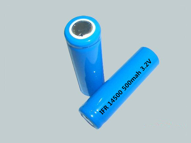 Richter Brand IFR Rechargeable Battery 14500 500mah 3 2V flat pointed for Consumer Electronics