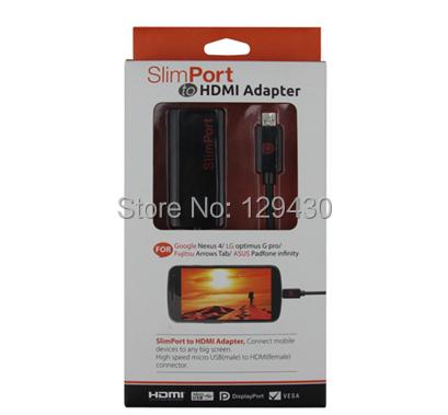 Sample test! Slimport to HDMI Adapter Cable for LG Nexus 4 Optimus G pro / Fujitsu ASUS Tablet Convertor(China (Mainland))