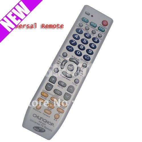 Fast shipping New Universal 3 in 1 Remote Controller for TV VCD DVD