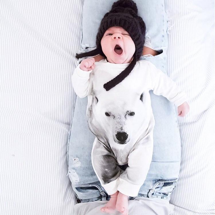 2015 Autumn Spring Baby Boy Clothes Long Sleeve Newborn