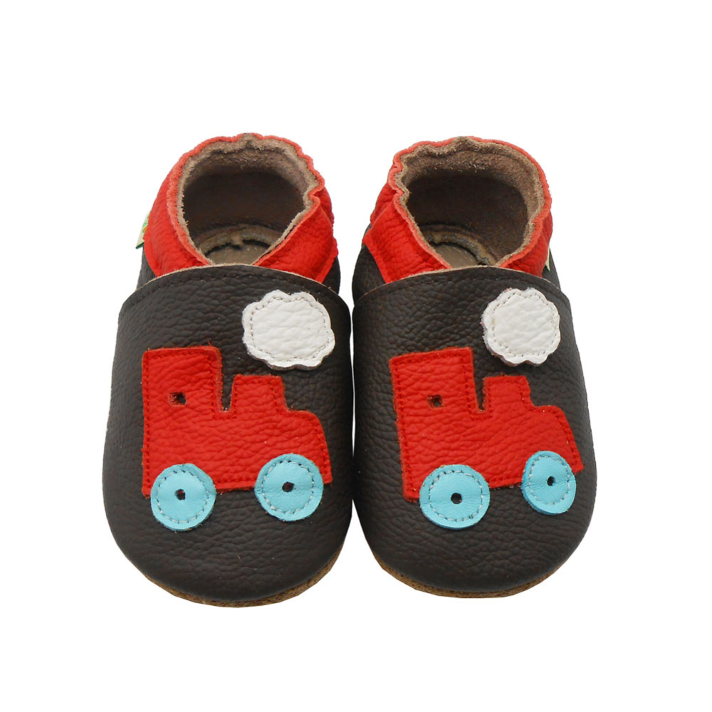 Sayoyo Brand Baby Moccasins Toddler Infant Shoe Footwear Soft Soled Cow Leather Train Baby Boy Shoes Pre-walker Free Shipping()