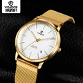 Mechanical Automatic Mens Watches Top Brand Luxury Vinoce Waterproof Steel Watchbands Ultra thin Fashion Relogio Masculino