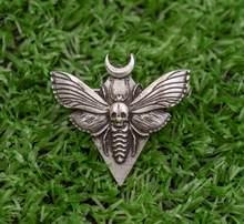 SanLan Death'S Testa Hawkmoth Moth spille per le donne insetto monili delle donne regalo di natale(China)
