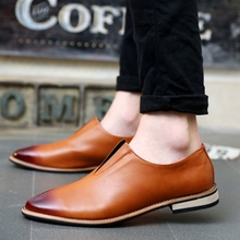 Neue Frühling Herbst Müßiggänger Männer Oxford Flache Schuhe Top marke Männer Mokassins Schuhe Leder Herren Schuhe Casual zapatos hombre(China (Mainland))