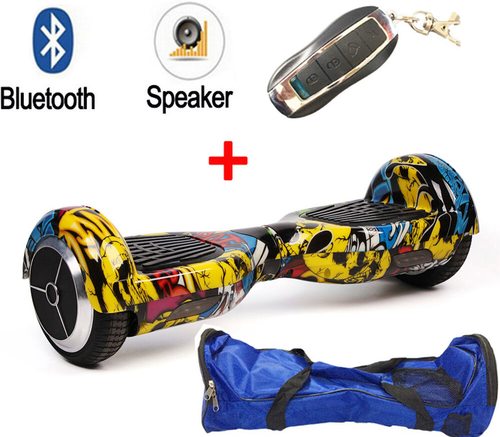 New color Electric Scooter Bluetooth/Remote/Bag Hoverboard Unicycle Smart wheel Skateboard Drift 2 Wheels Self Balancing Scooter<br><br>Aliexpress