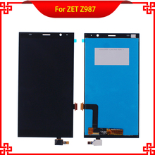 "6"" LCD Display Touch Screen Digitizer Assembly Replacement For ZTE Grand X Max+ Plus Z987 987 High Quality Mobile Phone LCDs"