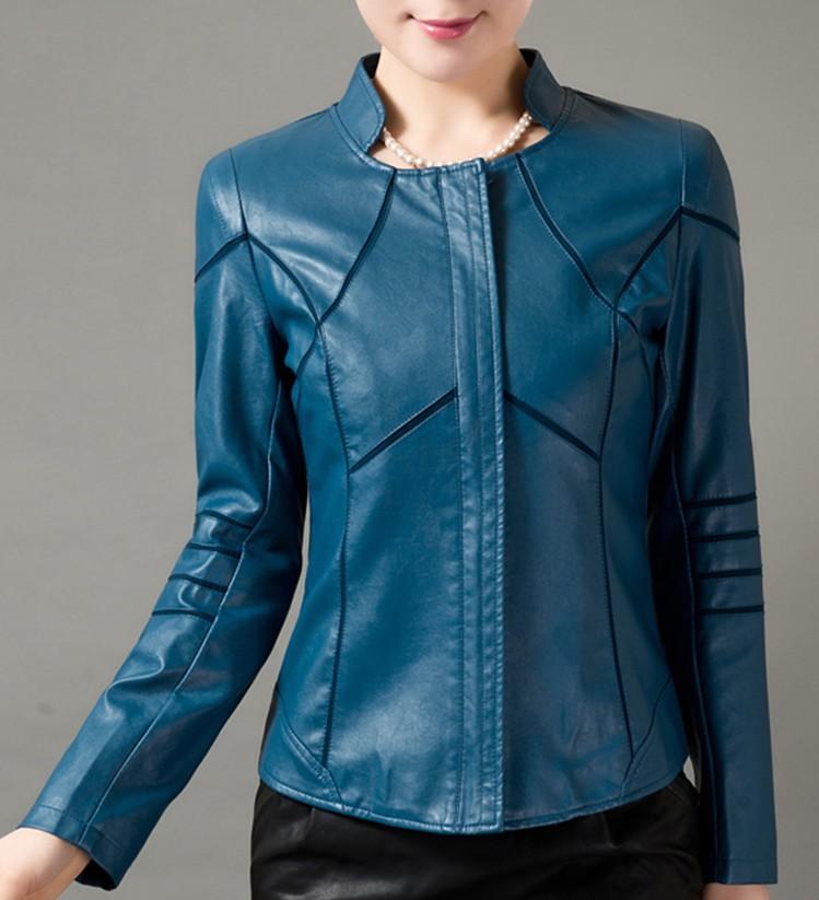 Женская Одежда Весна 2014 Кожаные Куртки
