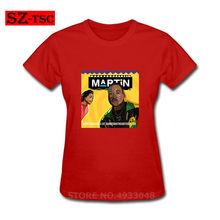 Moda Wassup Gibi Martin T-shirt Negan Lucille T Gömlek Femme Yürüyüş Ölü Kadın Tasarım Özel Kısa Kollu Pamuklu Kadın Tişört(China)