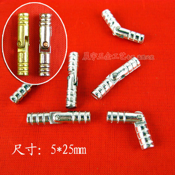 Wholesale 5*25MM Alloy cylindrical hinges Steel door Hinge Removable hinges Special hinges 100pcs/lot(China (Mainland))