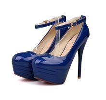 Brand Women's Pumps High Heels Shoes Woman Fashion Popular Thin Heel Sweet Sexy Beautiful Platform Single Shoes Large Size(China (Mainland))