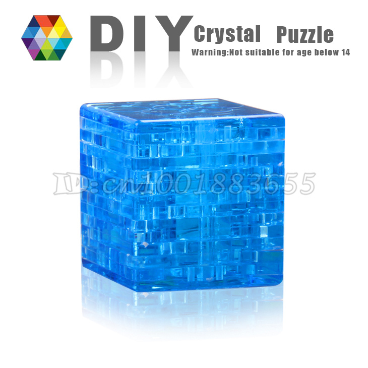 Free shipping Hot-selling Rubiks Cube 3d stereoscopic crystal puzzle. Fight inserted plastic for childrens educational toys<br><br>Aliexpress